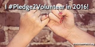 Volunteer Pledge