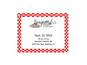 Spaghetti Dinner Ticket